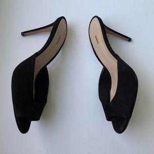 Schutz - Lizzy Mules/slides, Black,